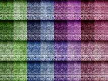 Wiele Różni kolory cajg tekstura Obraz Royalty Free