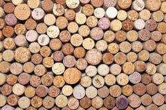 Wiele różni wino korki Zdjęcia Royalty Free