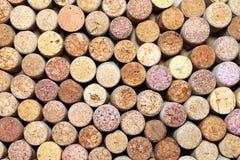 Wiele różni wino korki Obraz Stock