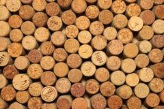 Wiele różni wino korki Fotografia Stock