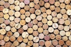 Wiele różni wino korki Fotografia Royalty Free