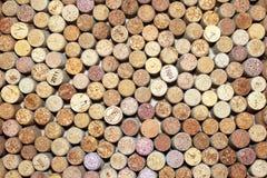 Wiele różni wino korki Zdjęcia Stock