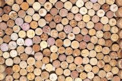 Wiele różni wino korki Obrazy Royalty Free