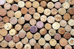 Wiele różni wino korki Zdjęcie Stock