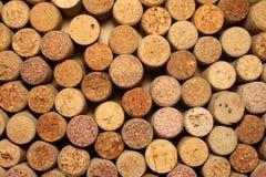 Wiele różni wino korki Obrazy Stock