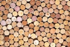 Wiele różni wino korki Obraz Royalty Free