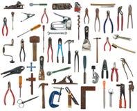 Wiele ręk narzędzia Obraz Royalty Free