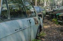 wiele samochody na miejscu fotografia stock