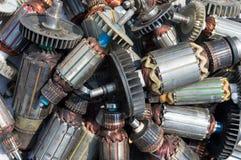 Wiele stary używać rotor zdjęcia stock