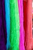 Wiele szwalna nić i tkactwo w krawieckim ` s Zdjęcie Stock