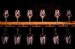 Wiele win szkieł piękna luksusowa kolekcja Obrazy Stock