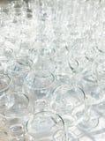 Wiele wine-glasses Zdjęcie Royalty Free
