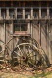 Wielen en Randen van een Oude Wagen Royalty-vrije Stock Afbeeldingen