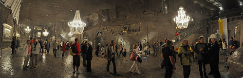 wieliczka ορυχείων Στοκ φωτογραφία με δικαίωμα ελεύθερης χρήσης