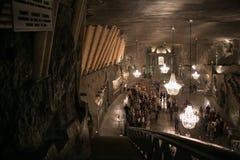 WIELICZKA, ΠΟΛΩΝΙΑ - 28 ΜΑΐΟΥ 2016: Παρεκκλησι του ST Kinga ` s στο αλατισμένο ορυχείο Wieliczka Στοκ φωτογραφία με δικαίωμα ελεύθερης χρήσης