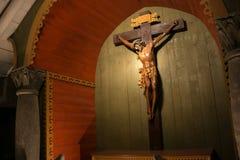 WIELICZKA, ΠΟΛΩΝΙΑ - 28 ΜΑΐΟΥ 2016: Το παρεκκλησι του ιερού σταυρού στο αλατισμένο ορυχείο Wieliczka Στοκ Εικόνες