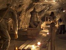 wieliczka соли шахты Стоковое Изображение RF