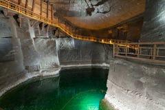 wieliczka соли шахты Стоковая Фотография