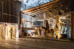 Wieliczka, Poland. Salt Mine Museum. Stock Images