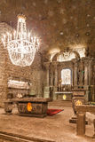 Wieliczka, Polonia St Kinga Chapel Fotografía de archivo libre de regalías