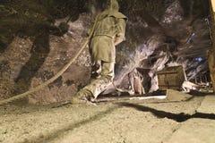 Wieliczka salt min Arkivfoto
