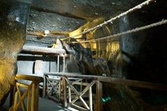 Wieliczka salt min (det 13th århundradet) Fotografering för Bildbyråer