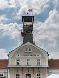 Wieliczka salt min near Krakow, Polen arkivfoton