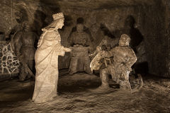 Wieliczka Salt Mine Royalty Free Stock Photos