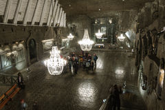 Wieliczka Salt Mine Royalty Free Stock Photography
