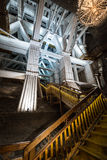 Wieliczka Salt Mine in Krakow, Poland, Europe. Royalty Free Stock Image