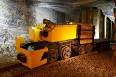 Wieliczka salt mine. Stock Image