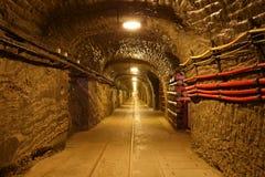 Wieliczka salt mine. Stock Photo