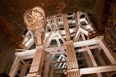 Wieliczka salt mine. royalty free stock photo