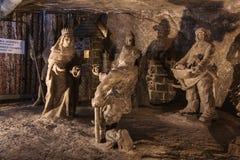 Wieliczka Salt Mine Royalty Free Stock Image