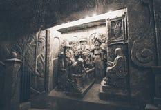 Wieliczka Salt Mine, Poland Stock Images