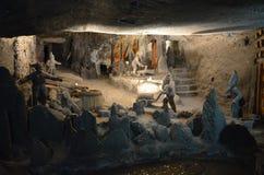 Wieliczka Salt Mine, Poland royalty free stock photos