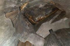 Wieliczka Salzbergwerk lizenzfreie stockbilder