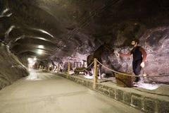 Wieliczka Salzbergwerk Stockbilder