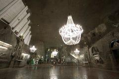 Wieliczka Salzbergwerk Lizenzfreies Stockfoto