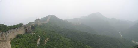 wielka ściana panoramy chiny Obraz Royalty Free