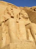 Wielka świątynia Ramesses II obrazy royalty free