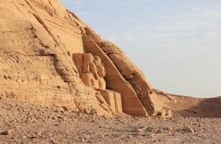 Wielka świątynia Ramesses II abu simbel Egiptu Zdjęcie Stock
