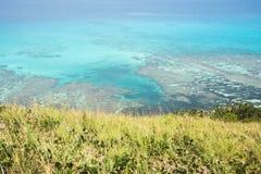 Wielka astrolabium rafa koralowa Zdjęcie Stock