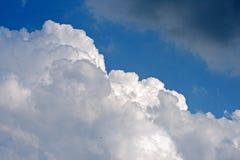 WIELKA BIAŁA cumulus chmura Zdjęcie Royalty Free
