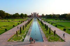 Wielka brama (Darwaza-i rauza) taj mahal Agra, Uttar Pradesh indu Obrazy Royalty Free