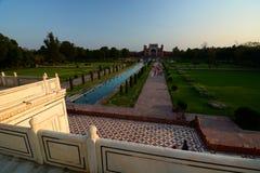 Wielka brama (Darwaza-i rauza) taj mahal Agra, Uttar Pradesh indu Zdjęcie Stock