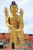 Wielka Buddha statua w Ladakh fotografia royalty free