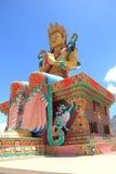 Wielka Buddha statua w Ladakh obraz royalty free