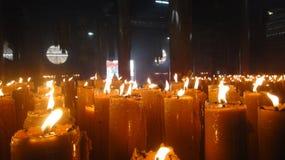 wielka candle Obraz Royalty Free