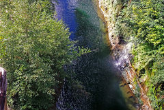 Wielka chilean rzeka Zdjęcie Royalty Free